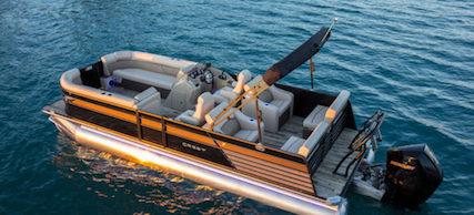 Boat 7 Crest lake lanier