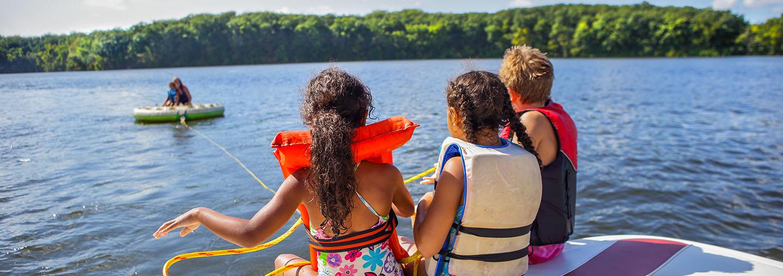 lake lanier island boat club fun on the water