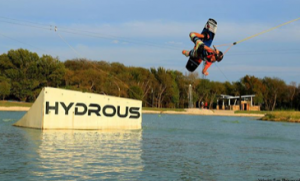 Dallas Nautical Boat Club wake boarding